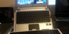 The Sharper Image Laptop Stand With Built-In Keyboard Review