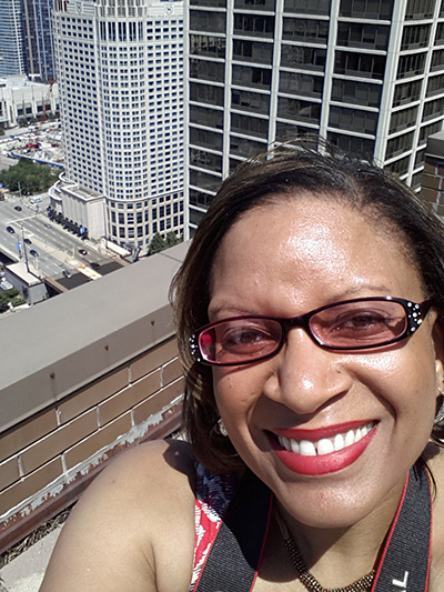Me on Top of the Chicago Hyatt checking out Sprint Cell Towers