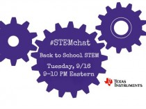 Back to School #STEMchat with Texas Instruments TONIGHT!