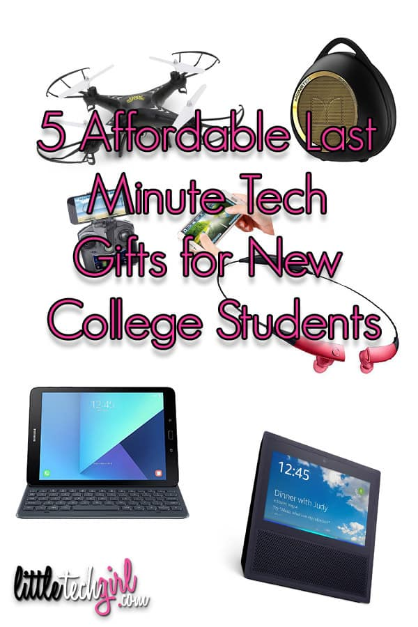 5 Affordable Tech Gifts for the College Student