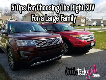 5 Tips For Choosing The Right SUV For a Large Family