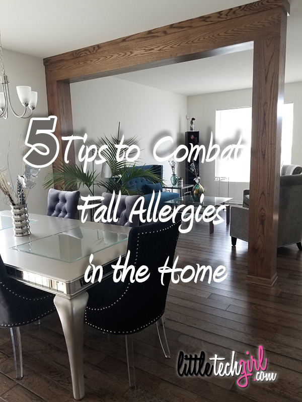 5 Tips to Combat Fall Allergies in the Home