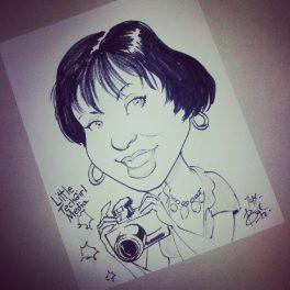 LittleTechGirl's Caricature