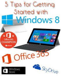 5 Tips for Getting Started with Windows 8