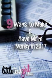 9 Ways to Make & Save More Money in 2017