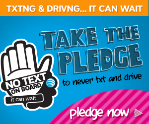 Texting & Driving – It Can Wait