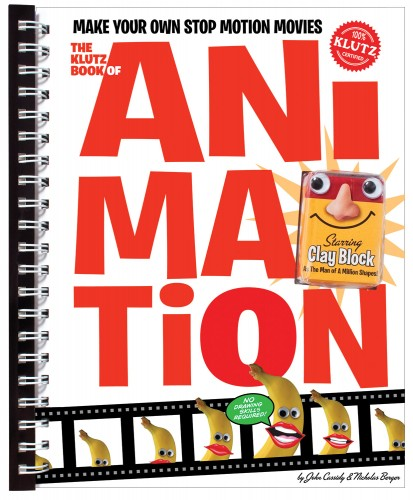 Stop 6 on the Klutz Book of Animation Tour + Giveaway