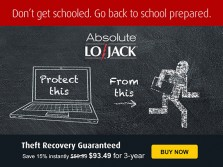 August is Device Theft Awareness Month with Absolute Lojack