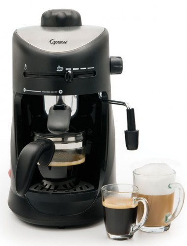 Guest Post: Capresso 4-Cup Espresso & Cappuccino Machine
