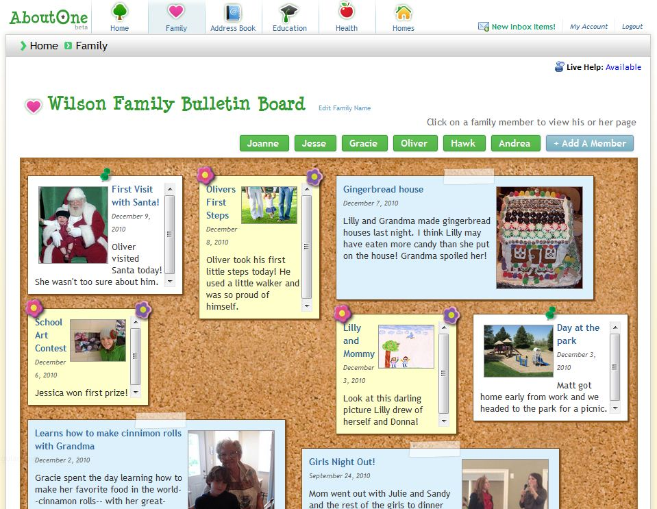 Keep Your Family Organized with an AboutOne.com Giveaway