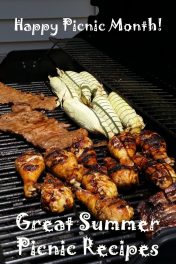 Happy Picnic Month! Great Summer Grilling Recipes
