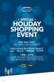 Visit Best Buy on November 5th For the Holiday Shopping Event