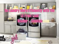 Do Laundry More Efficiently with the LG Front Load Washer + SideKick
