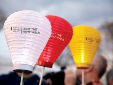 Help Children with Cancer by Joining Light the Night Walk
