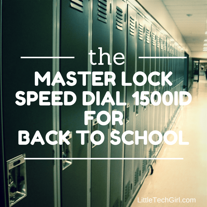 Master Lock Speed Dial 1500iD For Back to