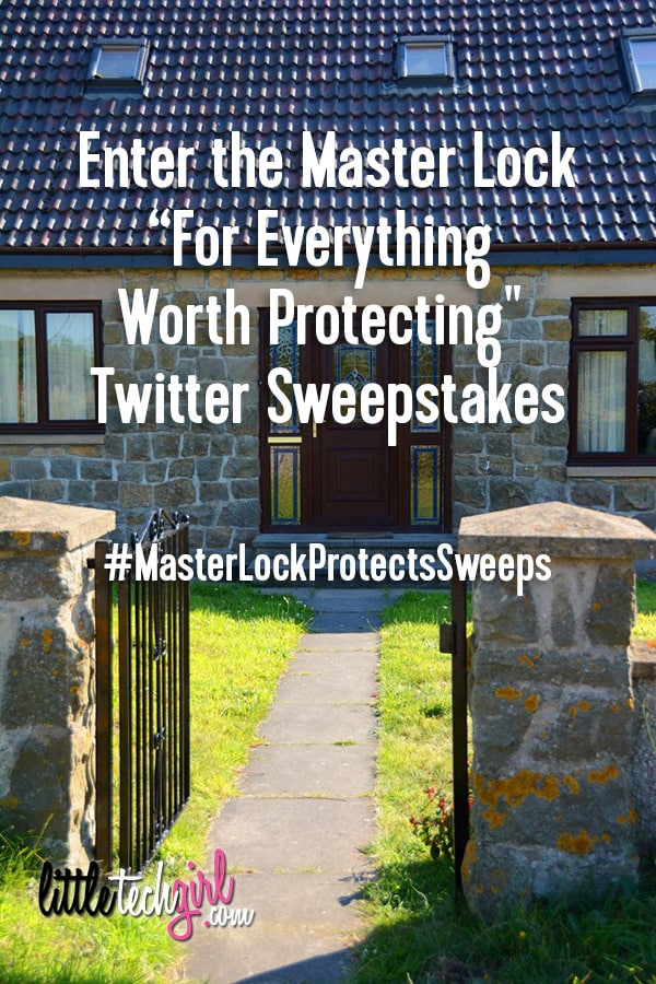 #MasterLockProtectsSweeps_littletechgirl
