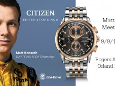 Meet Two-time Daytona 500 Champion Matt Kenseth in Chicago tomorrow!