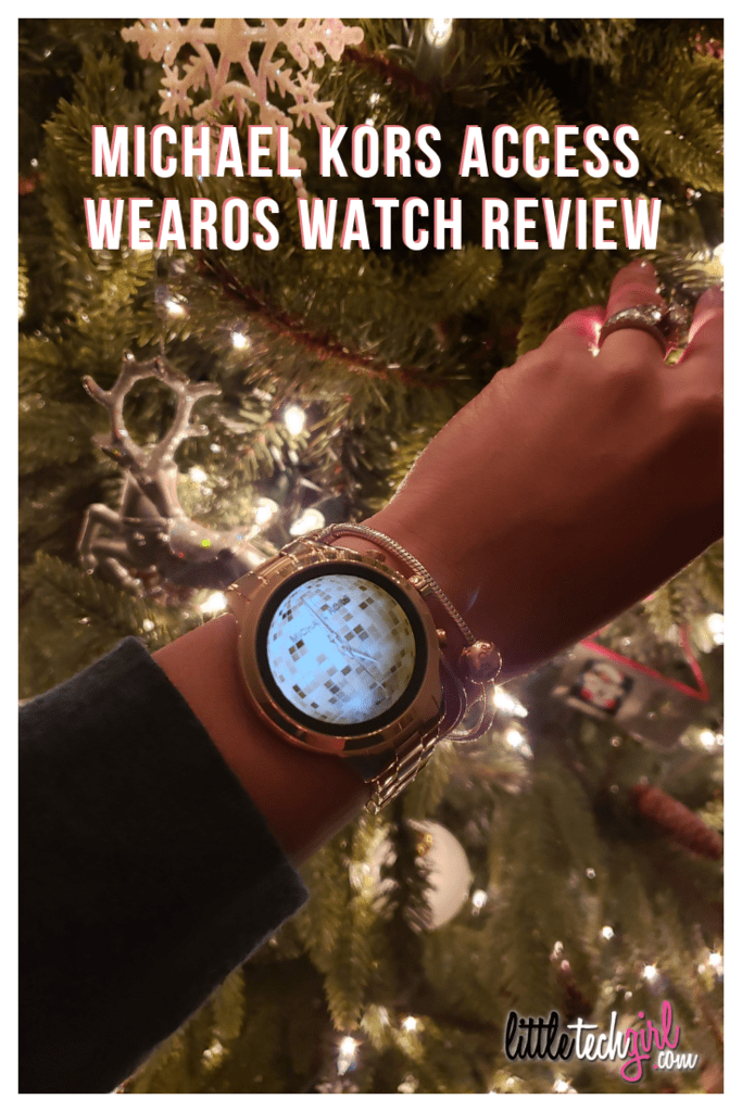Michael Kors Access WearOS Watch Review - LittleTechGirl.com
