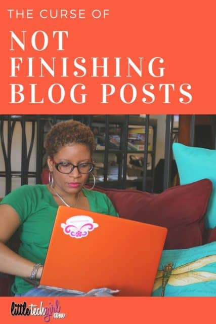 The Curse of Not Finishing Blog Posts