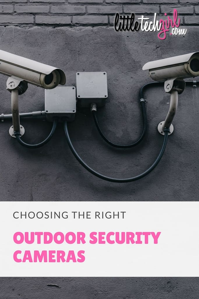 Choosing the Right Outdoor Security Camera
