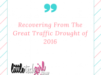 Recovering From The Great Traffic Drought of 2016