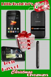 Tech Days of Christmas Giveaways: Samsung Galaxy Rush From Boost Mobile
