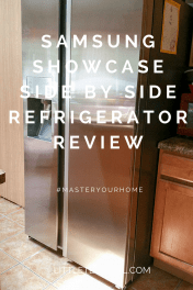 Samsung Showcase Side by Side Refrigerator Review
