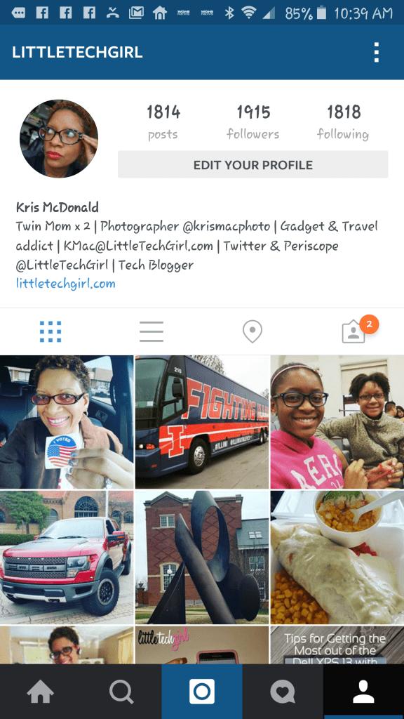 LittleTechGirl's Instagram Profile