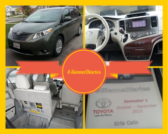Toyota Sienna Diaries: Keeping the Family Happy