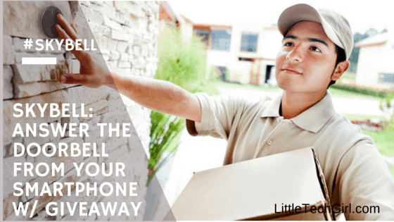 Skybell: Answer the Doorbell From Your Smartphone w/ Giveaway