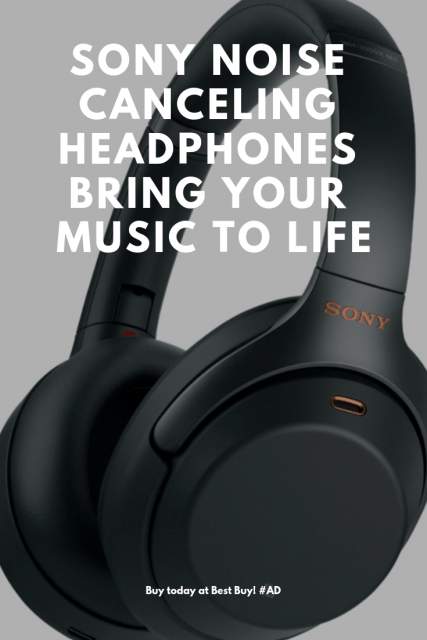 Sony Noise Canceling Headphones Bring Your Music to Life