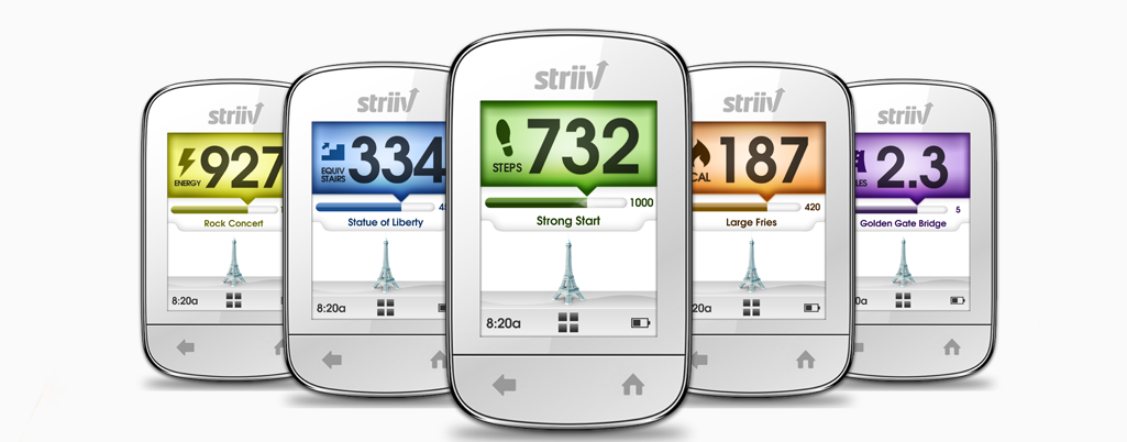 Holiday Review & Giveaway: Striiv Fitness Device