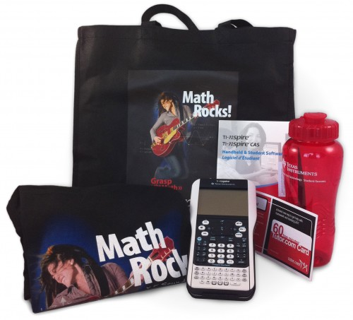 GIVEAWAY: TI-Nspire Graphing Calculator Prize Pack worth approx $200