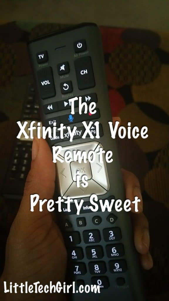Search for your favorite program much faster with the Xfinity X1 Voice Remote via @LittleTechGirl