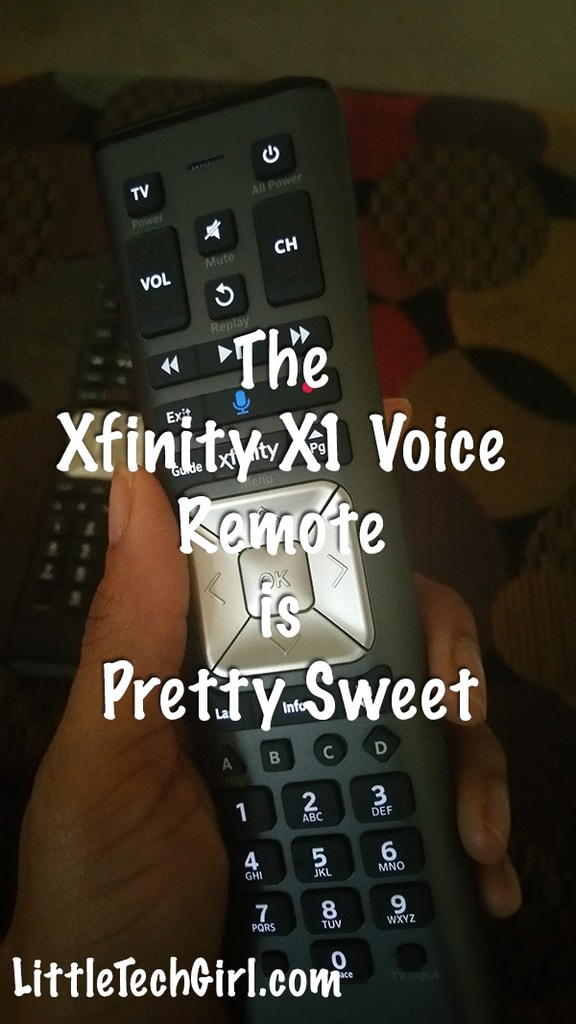 The Xfinity X1 Voice Remote is Pretty Sweet