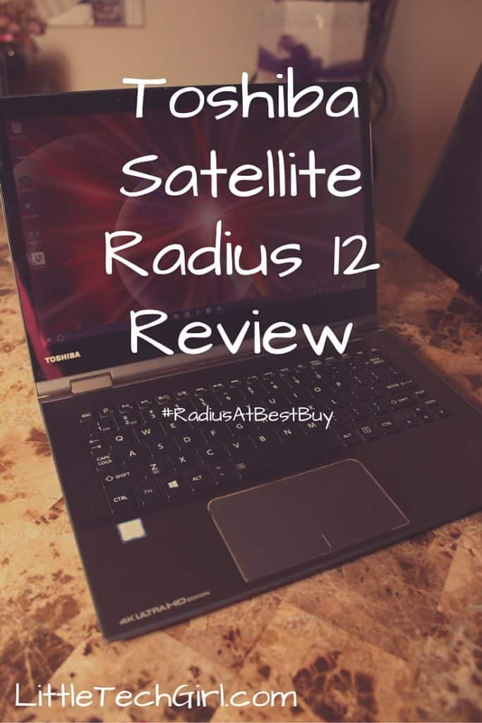 Toshiba Satellite Radius 12 Review