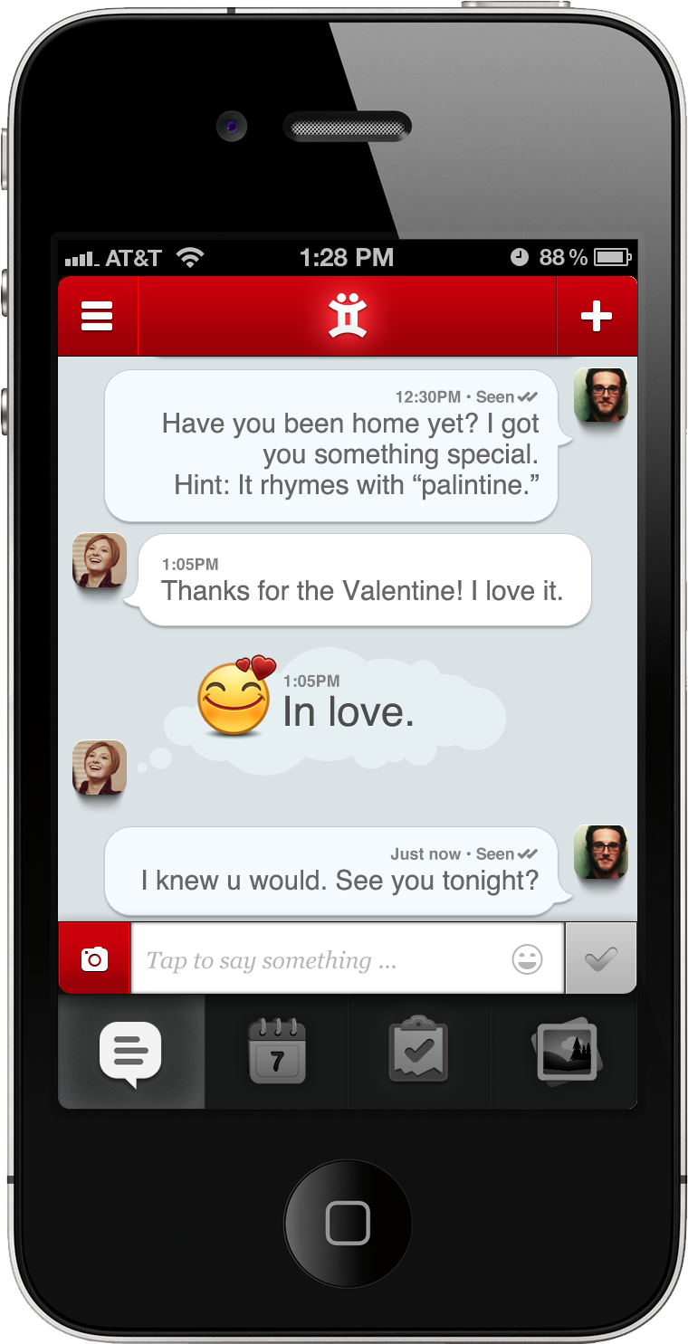 Keep Track of Your Romance with the Twyxt App for iPhone