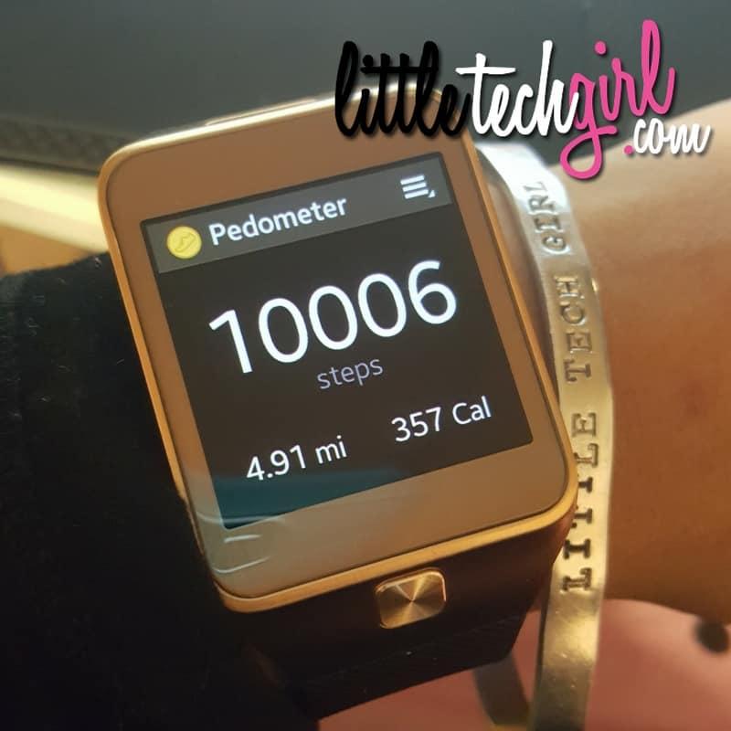 Samsung Galaxy Gear 2 Steps