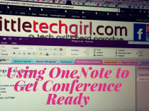 Using OneNote to Get Conference Ready