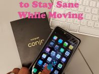 Using the Coolpad Conjr Smartphone to Stay Sane While Moving