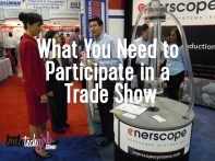 What You Need to Participate in a Trade Show