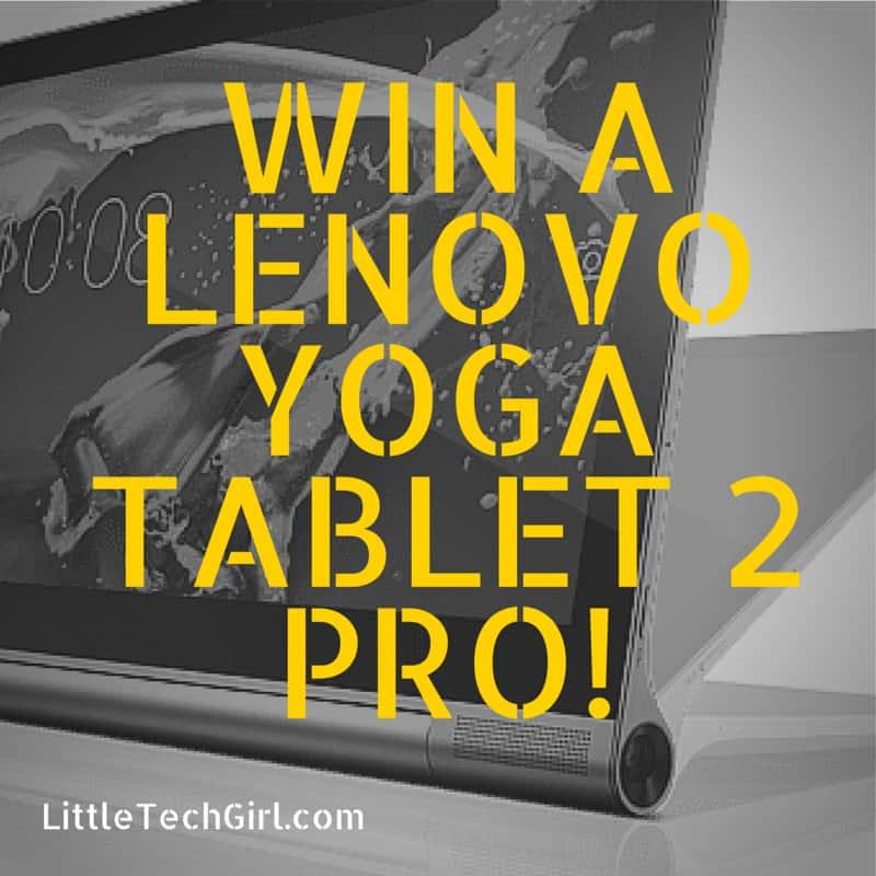 Win a Lenovo Yoga Tablet 2 Pro!