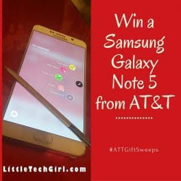 Tech Days of Christmas! Win a Samsung Galaxy Note 5  on AT&T!