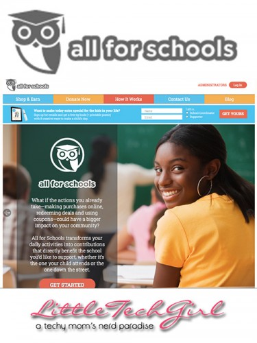 All for Schools – Fundraising Without the Hassle