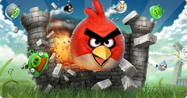 Angry Birds Are Taking Over the World