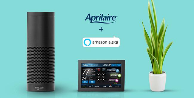 Aprilaire + Amazon Echo