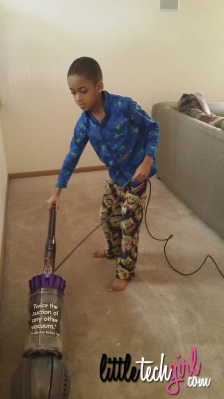 aprilaire winter wellness vacuuming