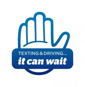 Texting & Driving - t Can Wait