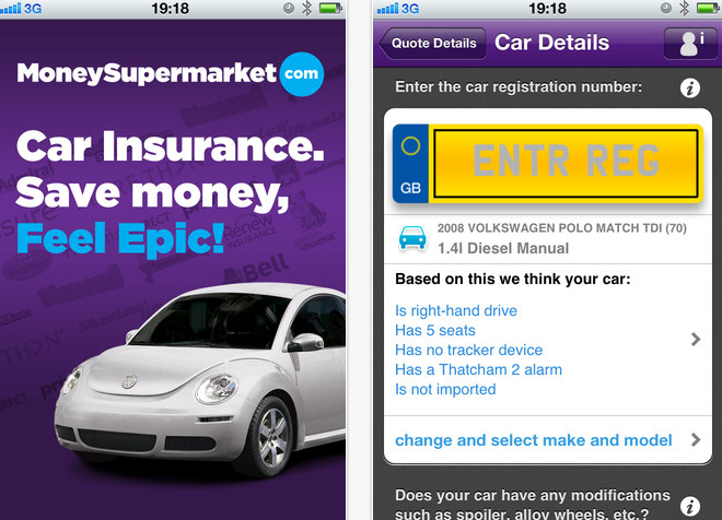 Guest Post: Use the moneysupermarket iPhone App to Find