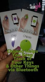 Chipolo Helps You Keep Track of Your Keys & Other Things via Bluetooth